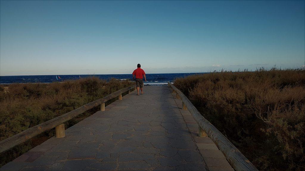 Tenerife: spiaggia del Medano