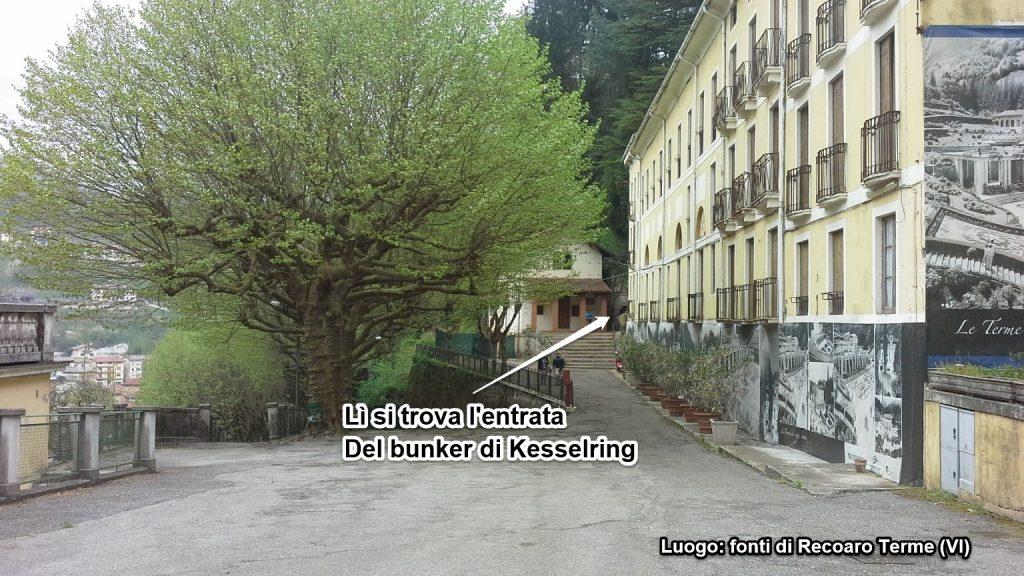 Dove si trova il bunker di kesselring