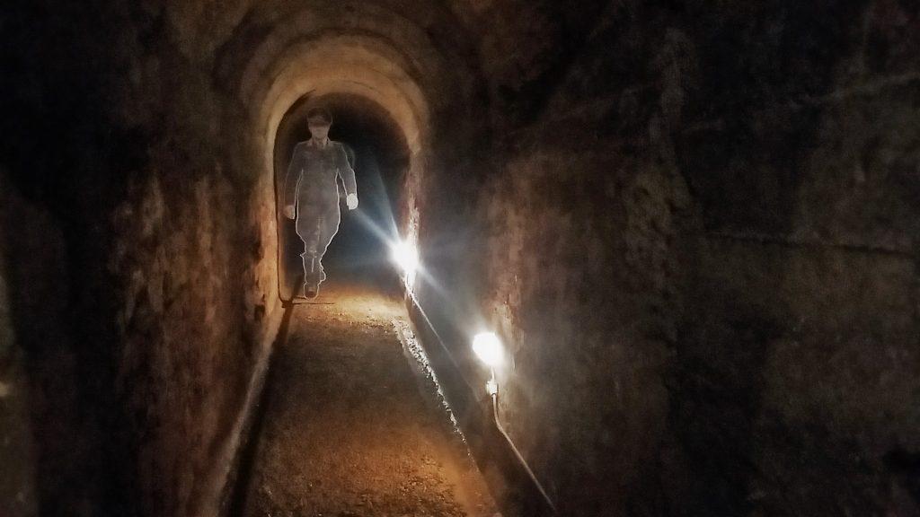 Interno bunker di Kesselring