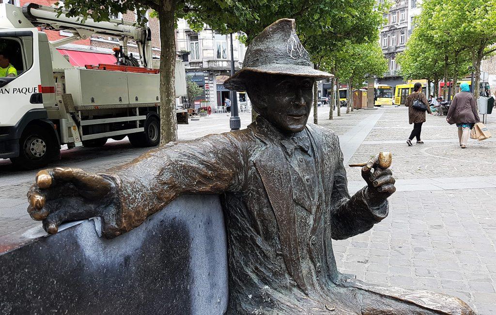 George Simenon a Liegi