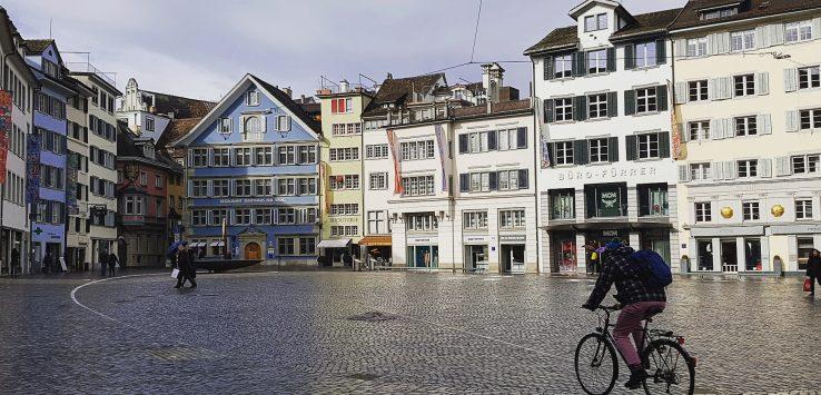 Zurigo Piazza Munstergasse