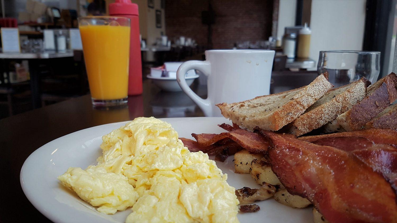 ove fare colazione a Portland
