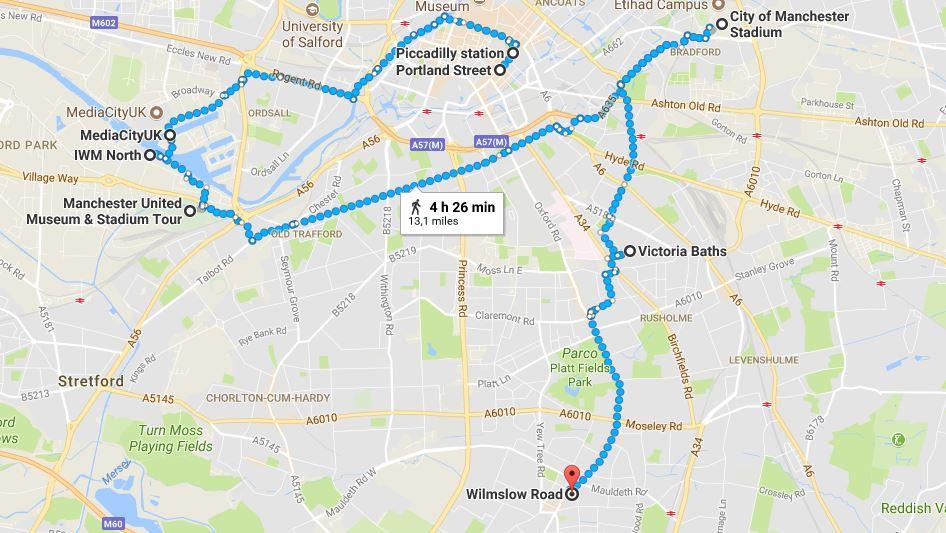 Manchester Itinerario secondo giorno