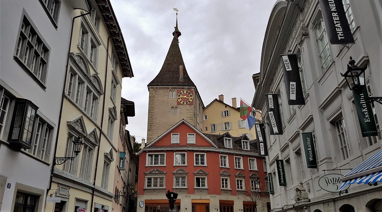 centro medievale zurigo