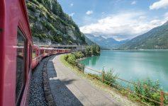 La Svizzera in treno