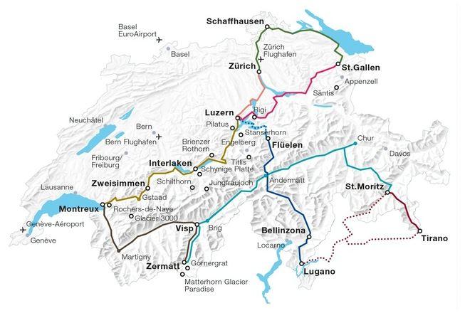 itinerari consigliati svizzera
