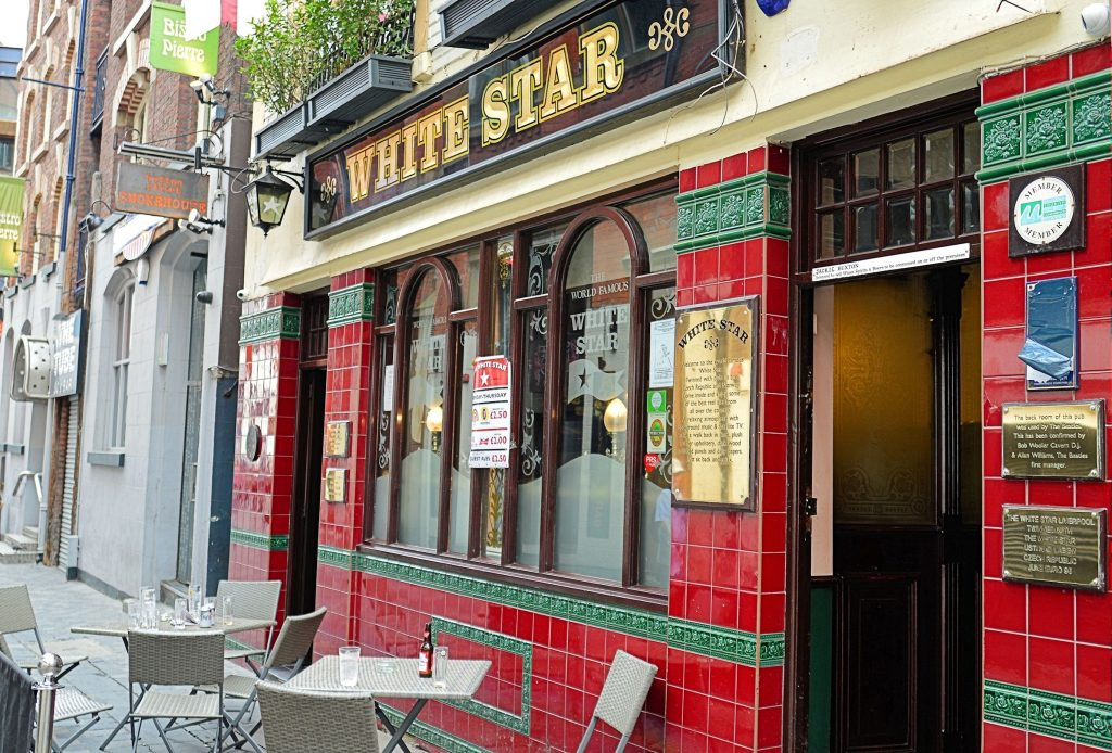 White Star Pub LIverpool