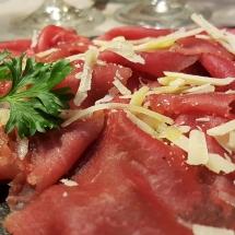 Carne salada Hosteria Toblino