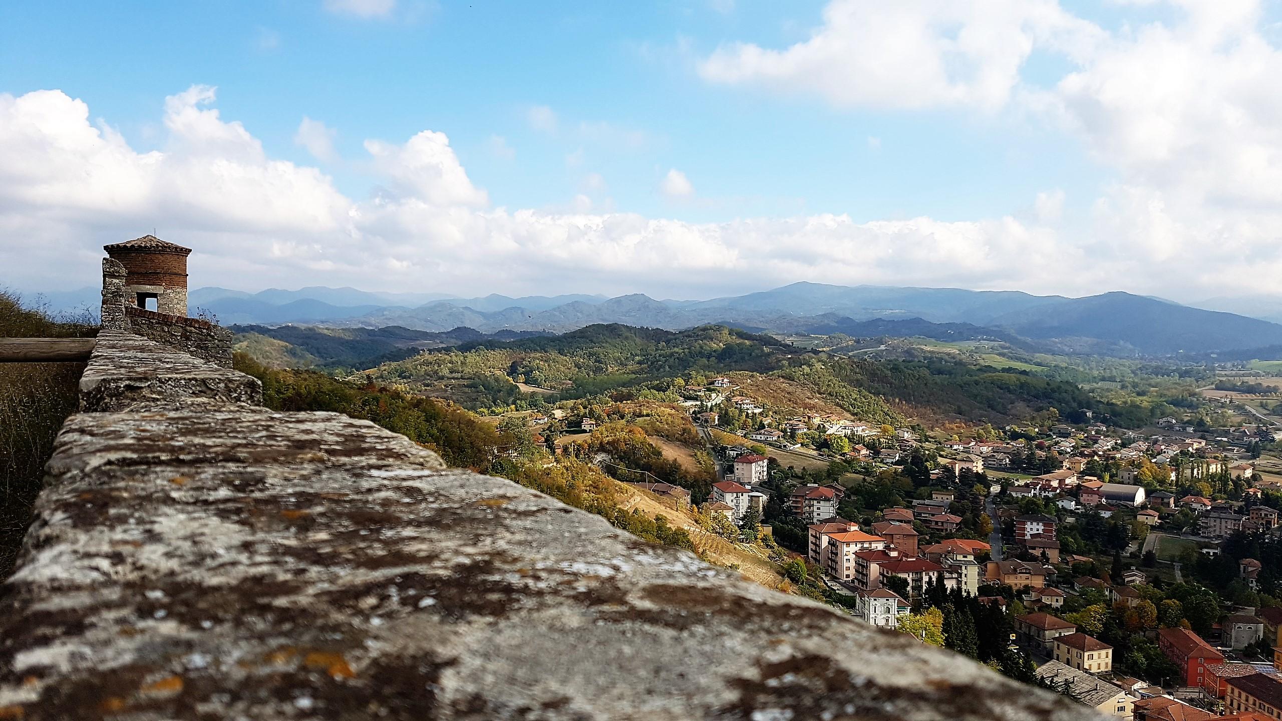 Panorama di Gavi dal Forte
