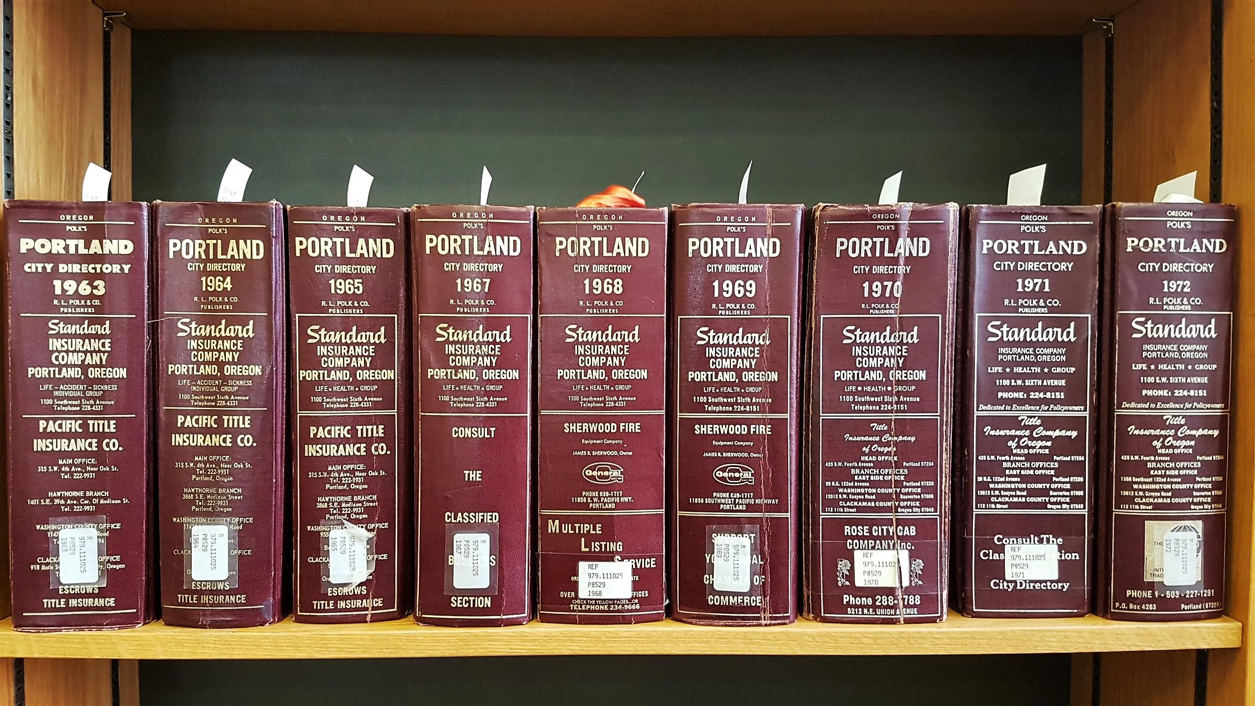 Archivio storico Oregon historical society
