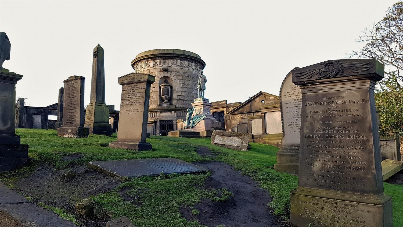 Monumento americano cimitero calton road