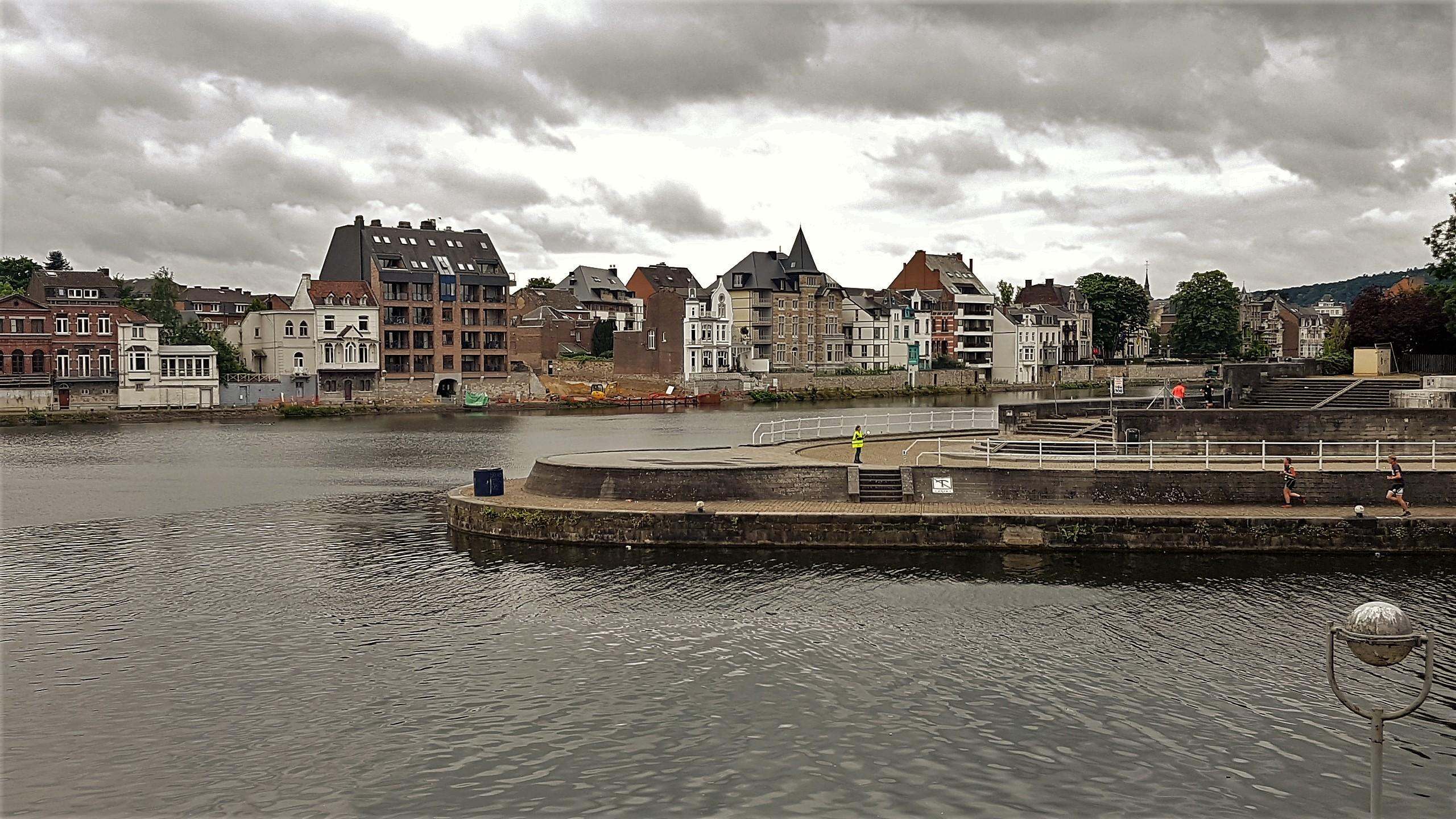Namur confluenza Mosa e Sambre