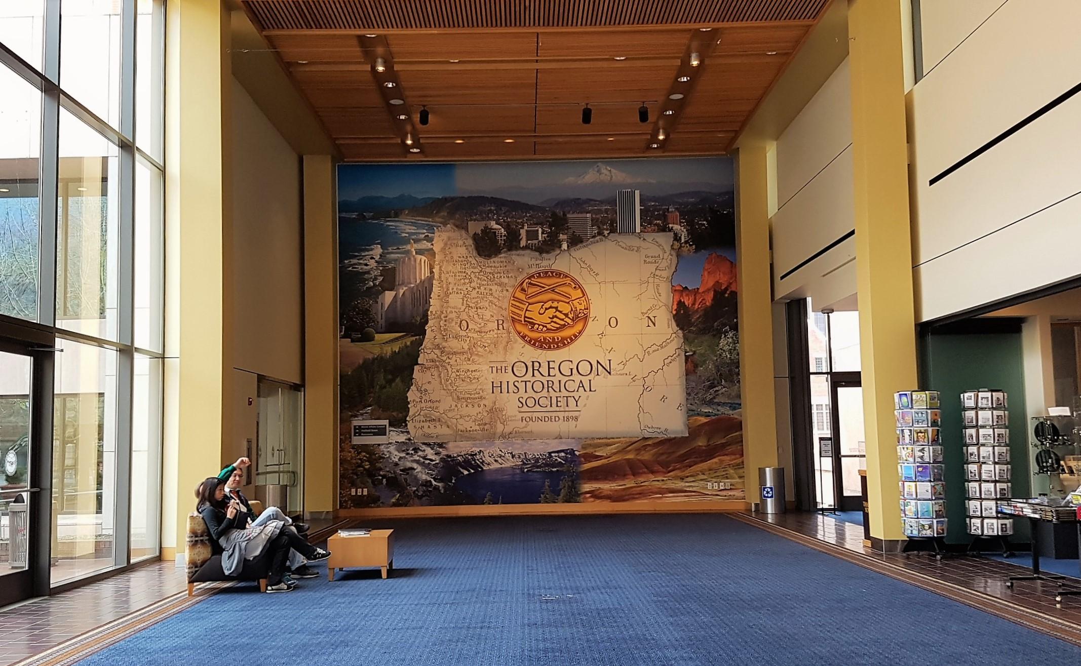Portland Visitare Oregon Historical Society