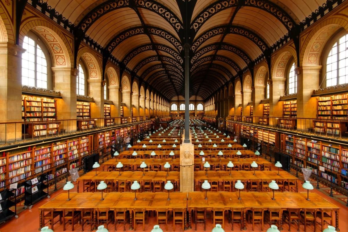 Biblioteca Sainte Geneviève Parigi
