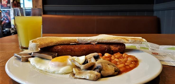 colazione full british