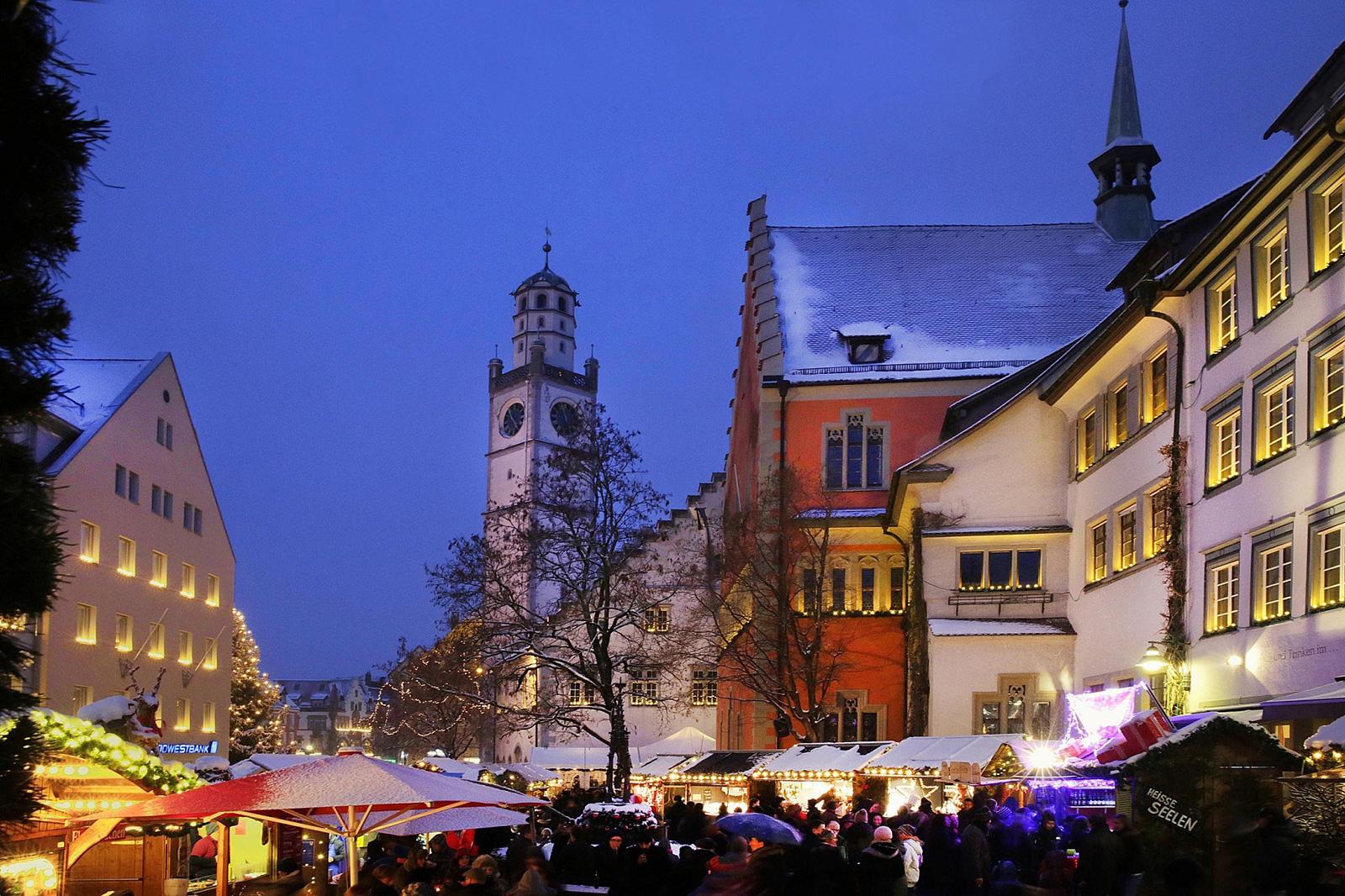 mercatino di natale a ravensburg