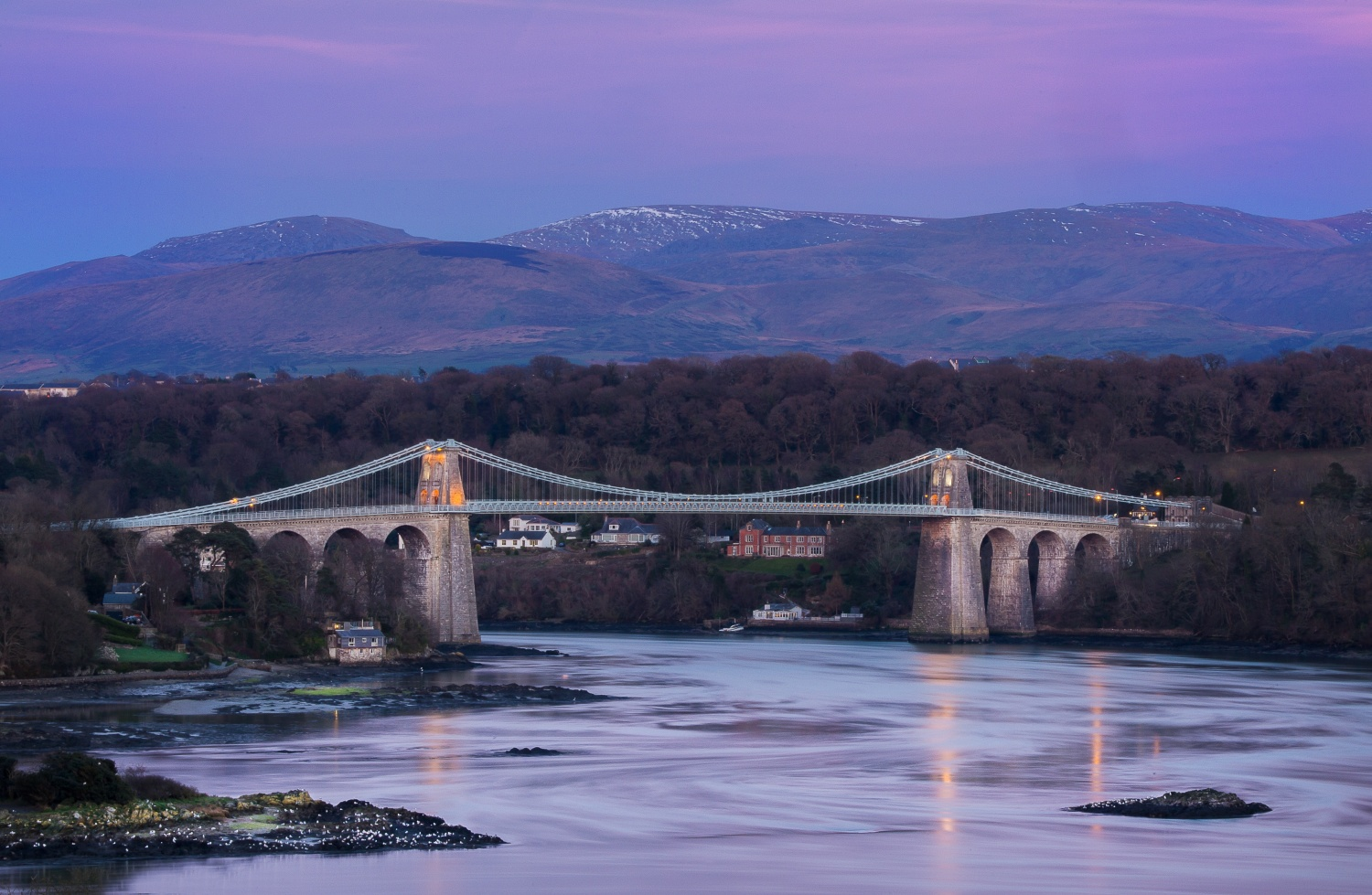 Menai Strait Bridge