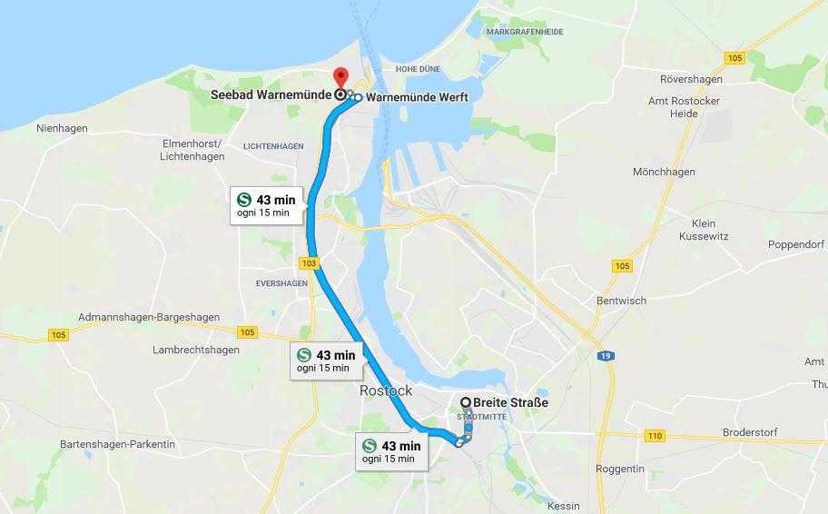 Itinerario secondo giorno a Rostock