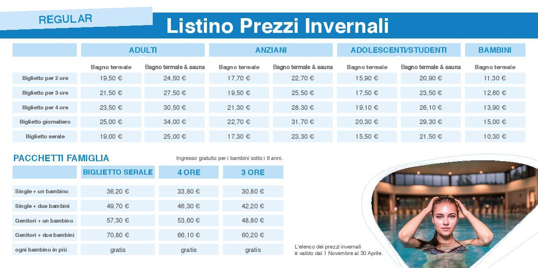 Prezzi Terme St.Kathrein