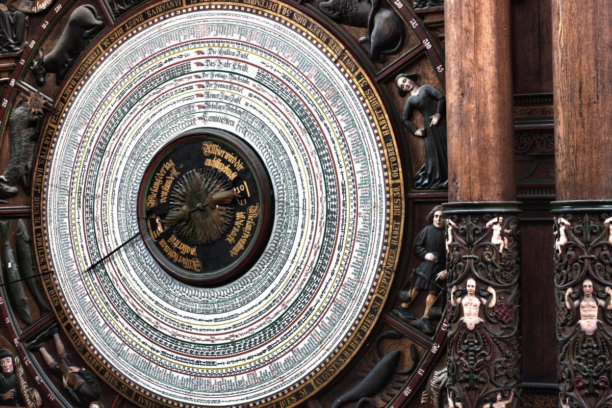 Orologio astronomico Rostock