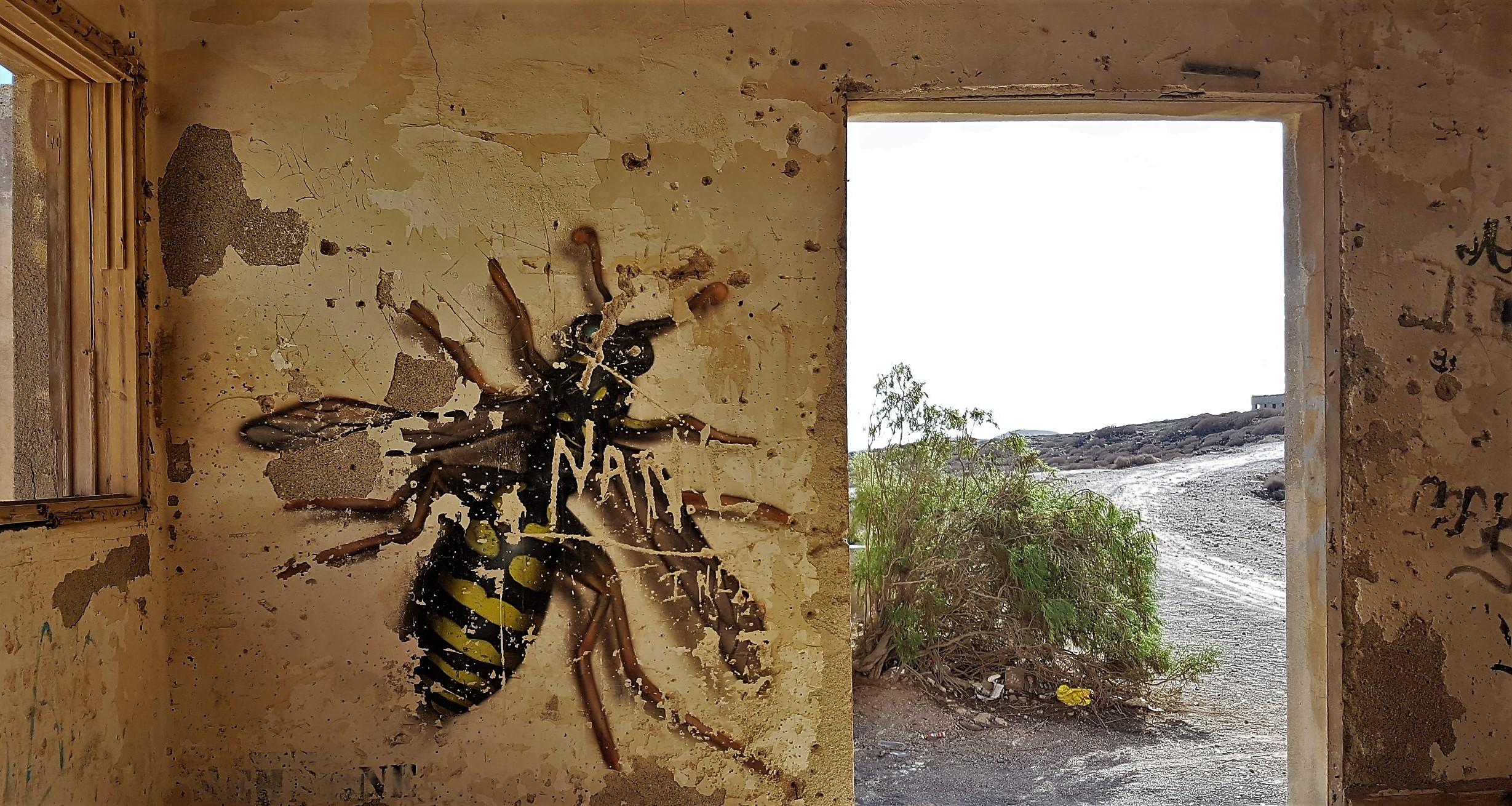 Graffiti Città Fantasma Abades