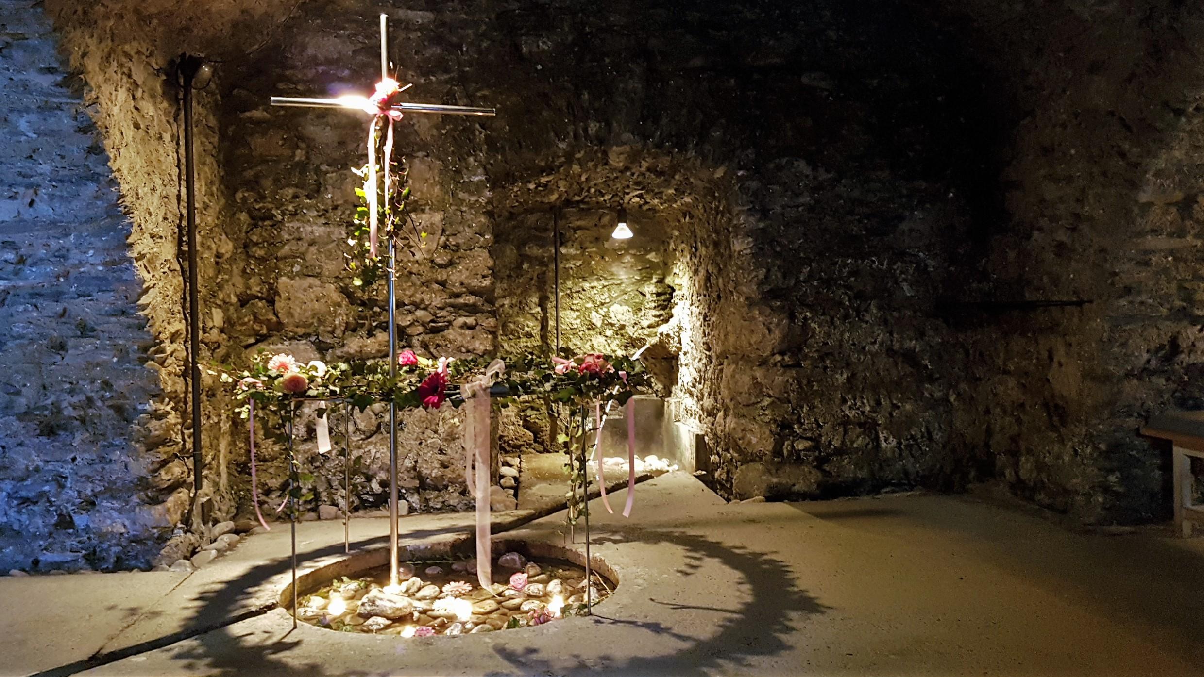 Cripta della fonte di Santa Caterina