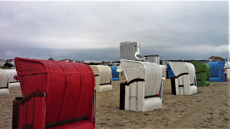 spiaggia di Warnemunde