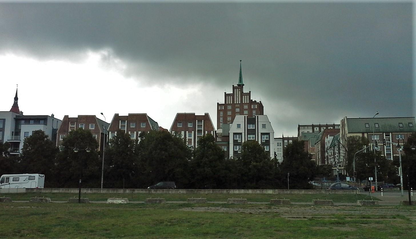 temporale su Rostock
