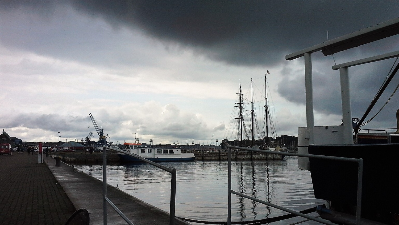Rostock Lungo Fiume