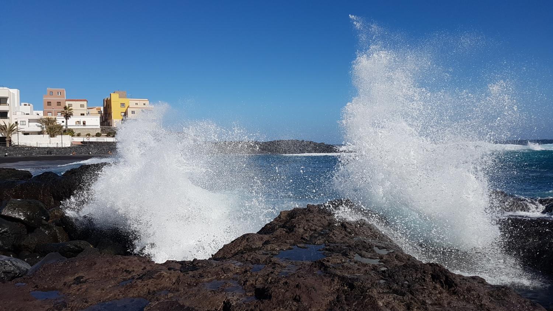 la forza delle onde