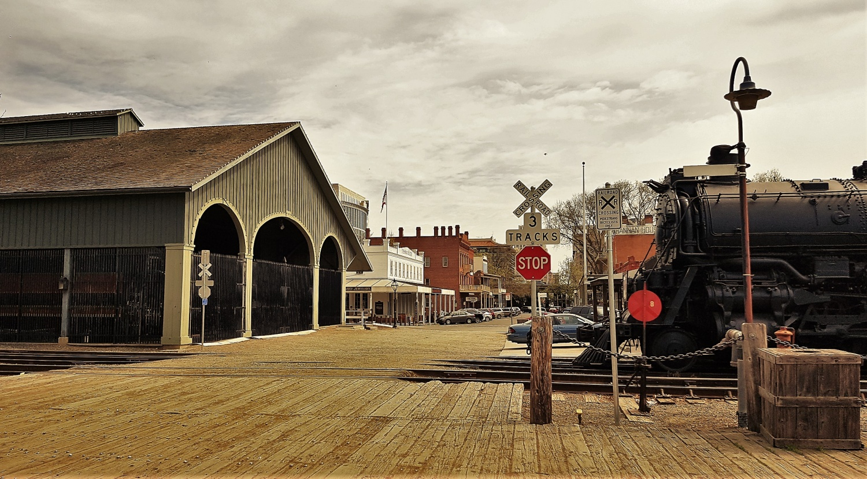 Sacramento California State Railroad Museum