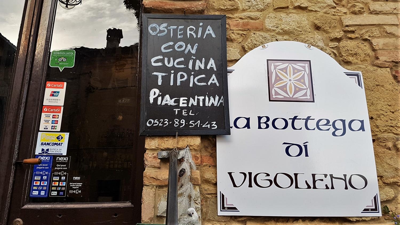Dove mangiare a Vigoleno