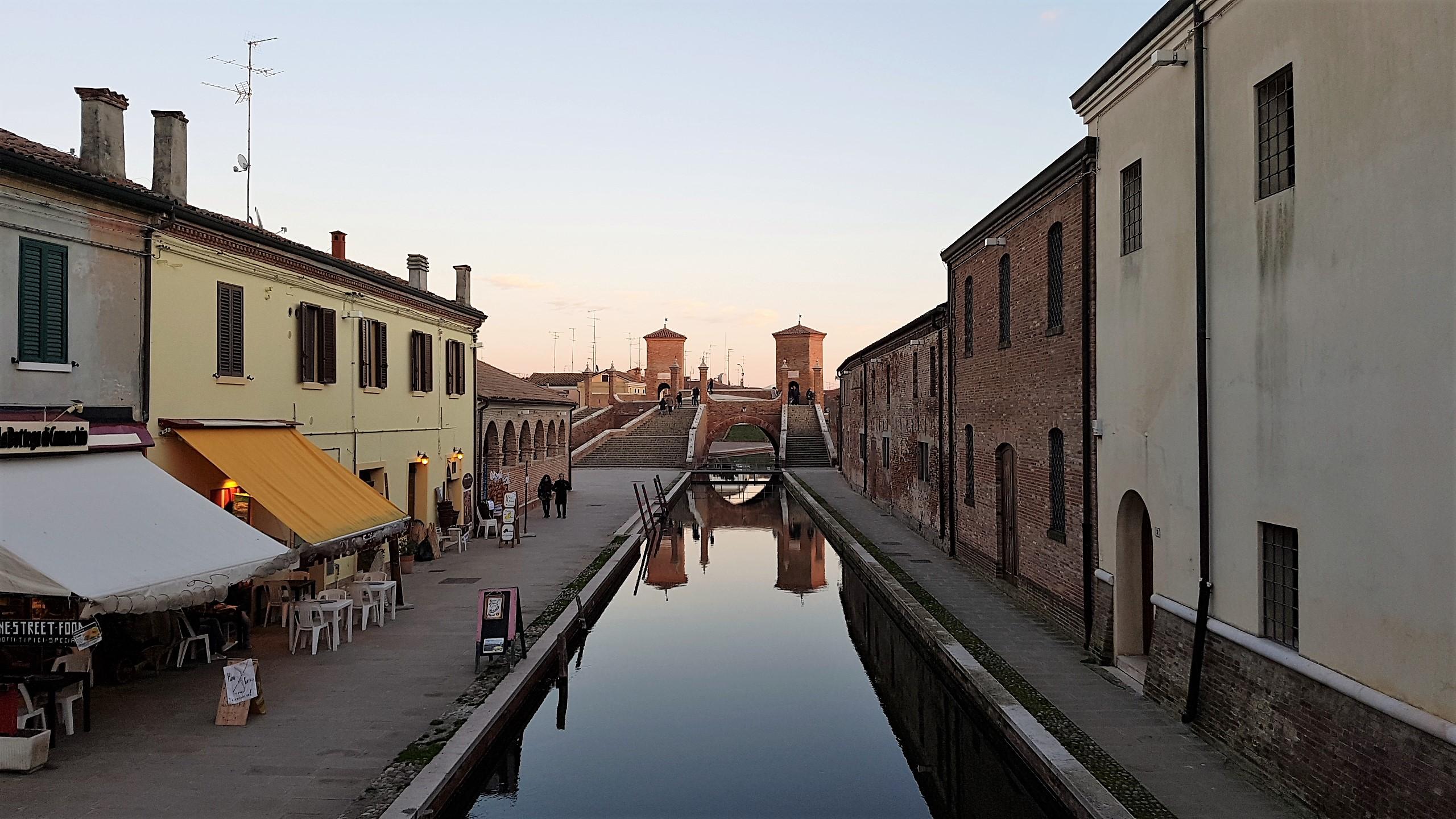Visitare Comacchio