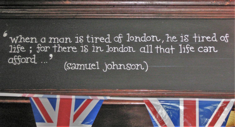 citazione samuel johnson