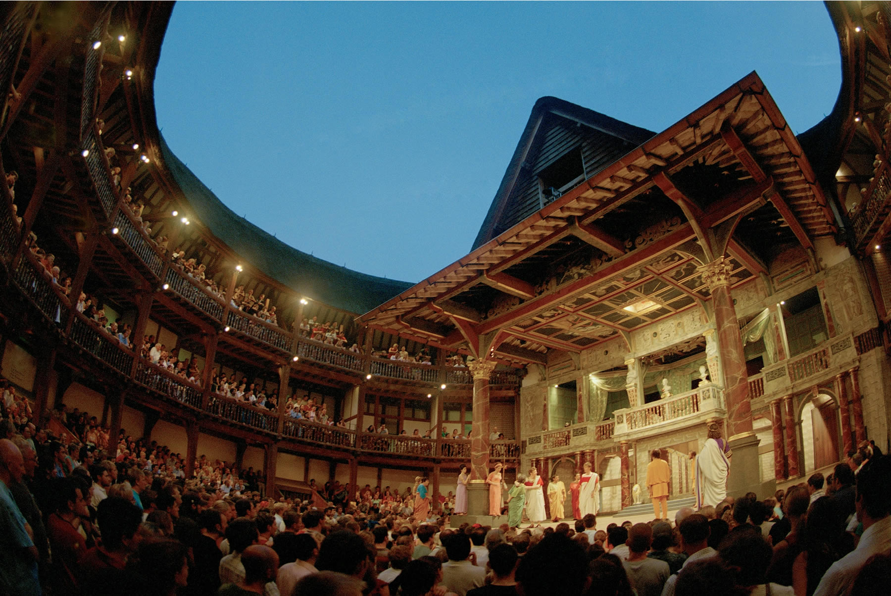 globe theatre londra