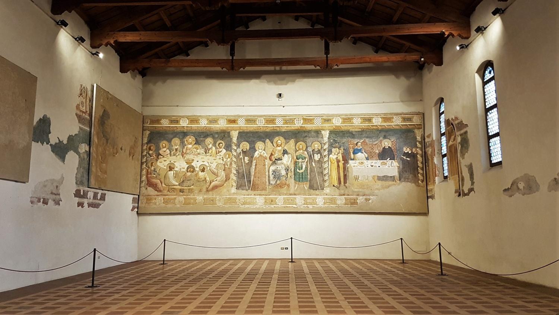 refettorio abbazia pomposa