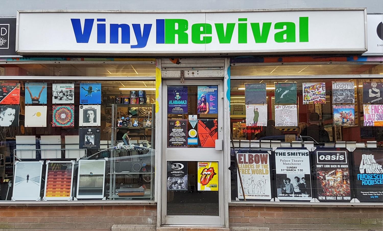 Comprare da Vinyl Revival