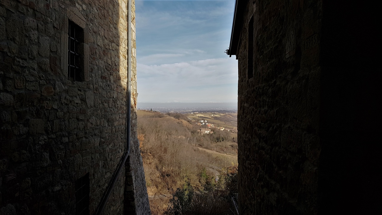Panorama da Vigoleno