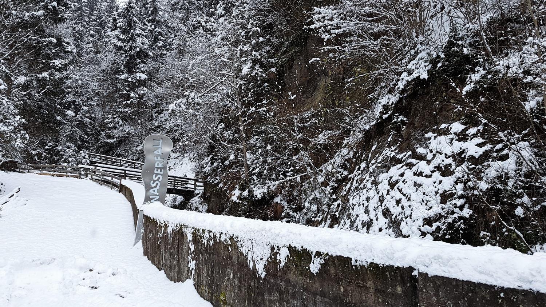 Sentiero cascata Feld am See