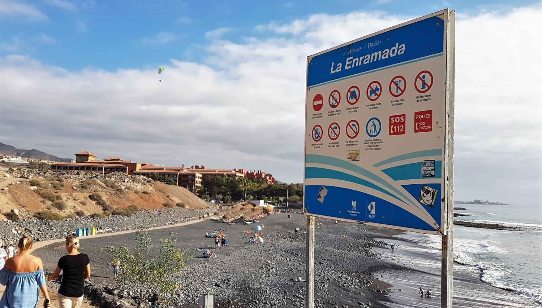 Spiagge pubbliche a Tenerife la Enramada