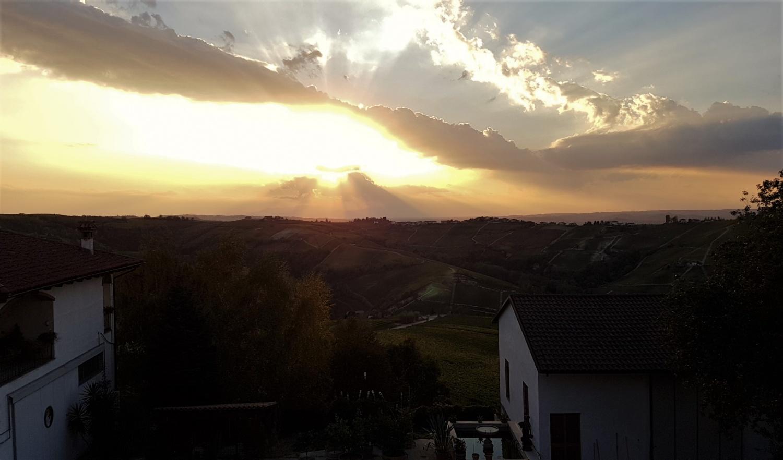 tramonto langhe