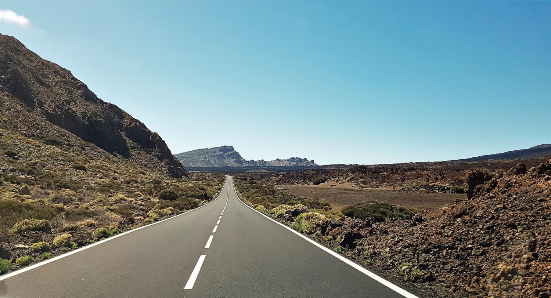 On the road sul Teide