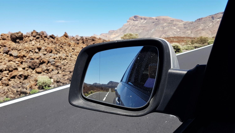 La strada sul Teide