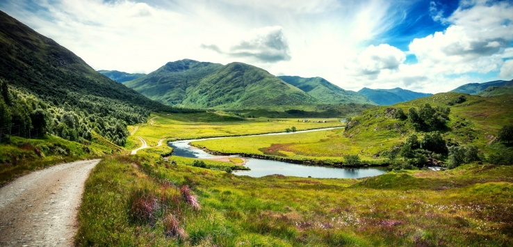 trekking in Gran Bretagna