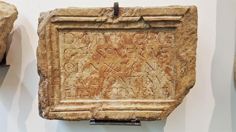 iscrizione romana aguntum