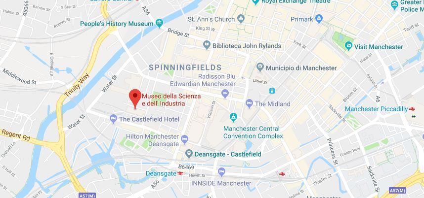 Dove si trova il MOSI a Manchester