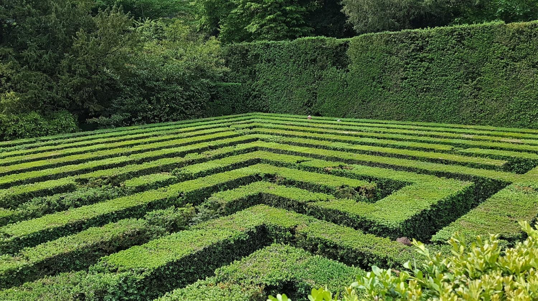 labirinto villa barbarigo