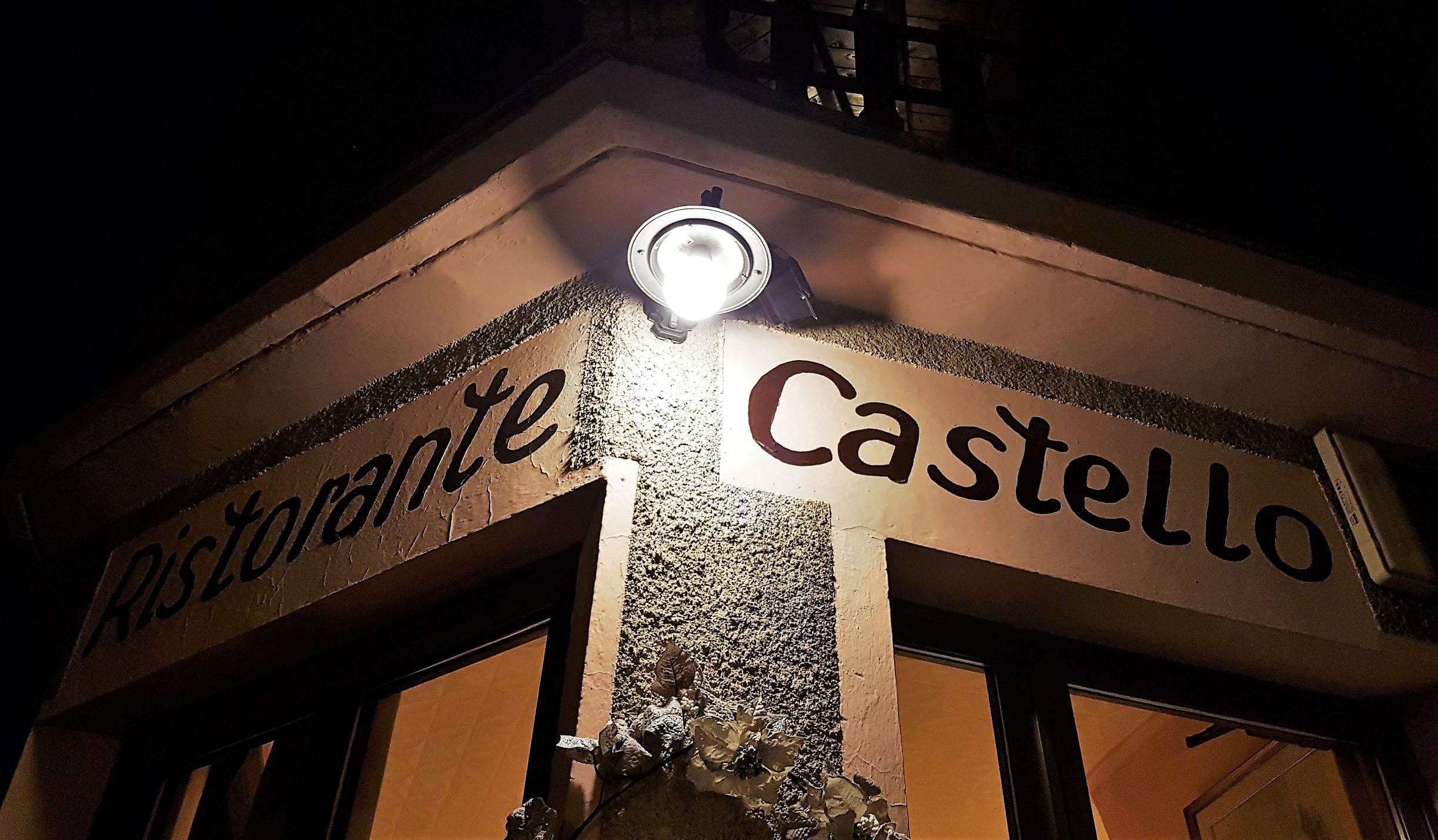 ristorante castello tenno