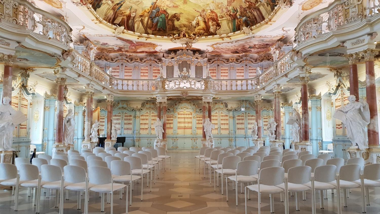 iblioteca barocca Bad Schussenried