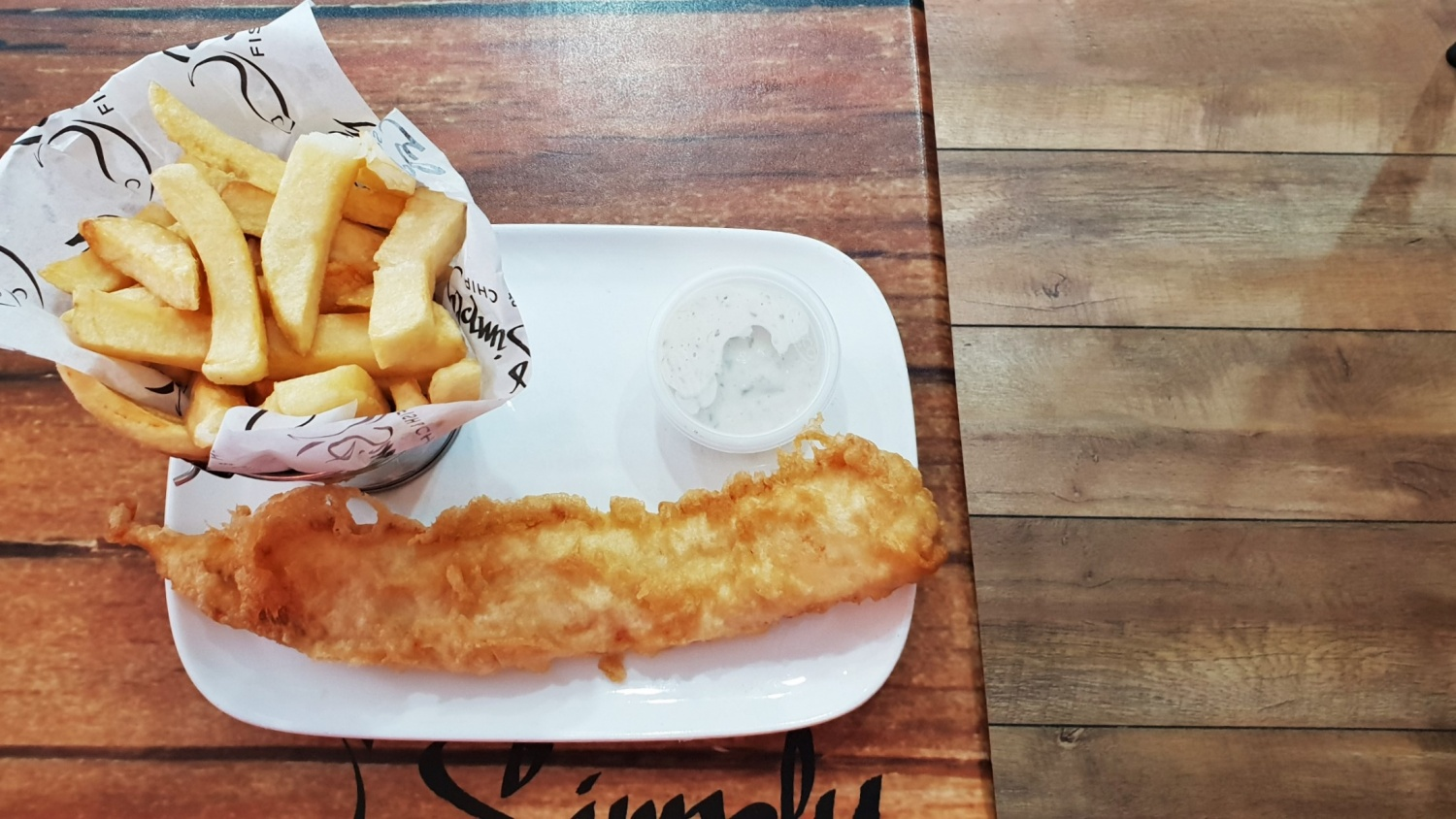 Belfast Fish and chips